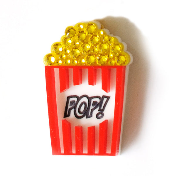 Mini Popcorn Pin/Brooch