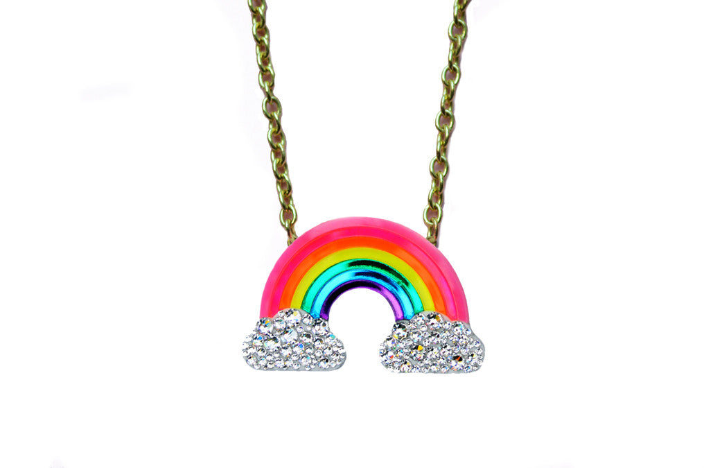 products zulujay rainbow image necklace