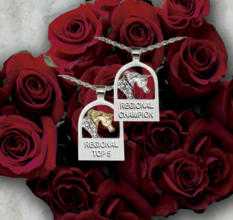 Arabian Horse U.S. Regional Championship Medallions and charms