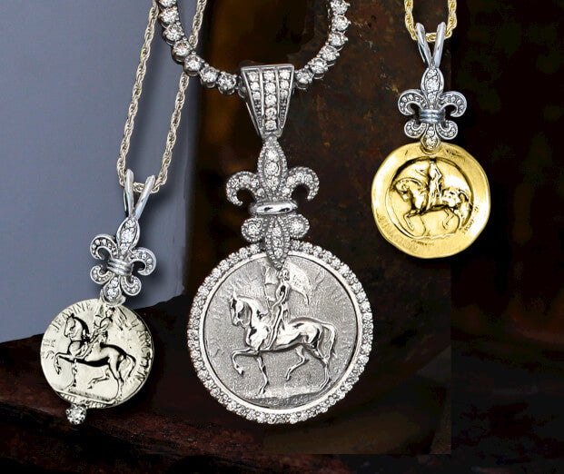 Joan of Arc Pendants