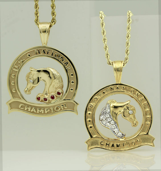 Arabian Horse U.S. National Medallions and Charms