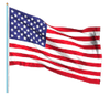 We are proudly made in America image of the American flag