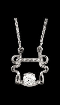Buxton Bit Necklace with Diamond
