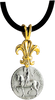 Joan of Arc Astride Pendant