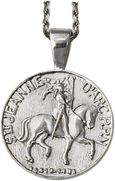 Joan of Arc Destrier Pendant - Bennett Fine Jewelry
