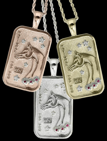 Arabian Horse National Top Ten Pendants by Lesley Rand Bennett