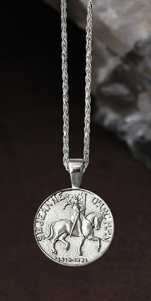 Joan of Arc Destrier Pendant