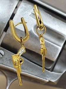 Gunslinger Ear Charms - Bennett Fine Jewelry