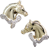 Horse Head Earrings 661