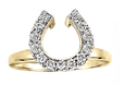 Build a Two Become One Horseshoe Wedding Set - Bennett Fine Jewelry