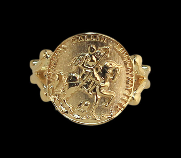 Joan of Arc Horse Ring 1555C - Bennett Fine Jewelry