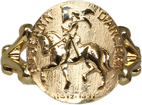 Joan of Arc Ring 1454C