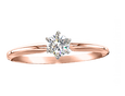 Build a Two Become One Horseshoe Wedding Set in Rose Gold - Bennett Fine Jewelry