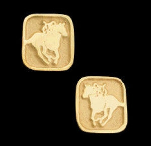 Racehorse Earrings