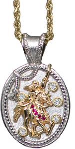 Scottsdale Collection Pendant 14k - Bennett Fine Jewelry