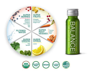 Balance The Superfood Shot® Ingredients