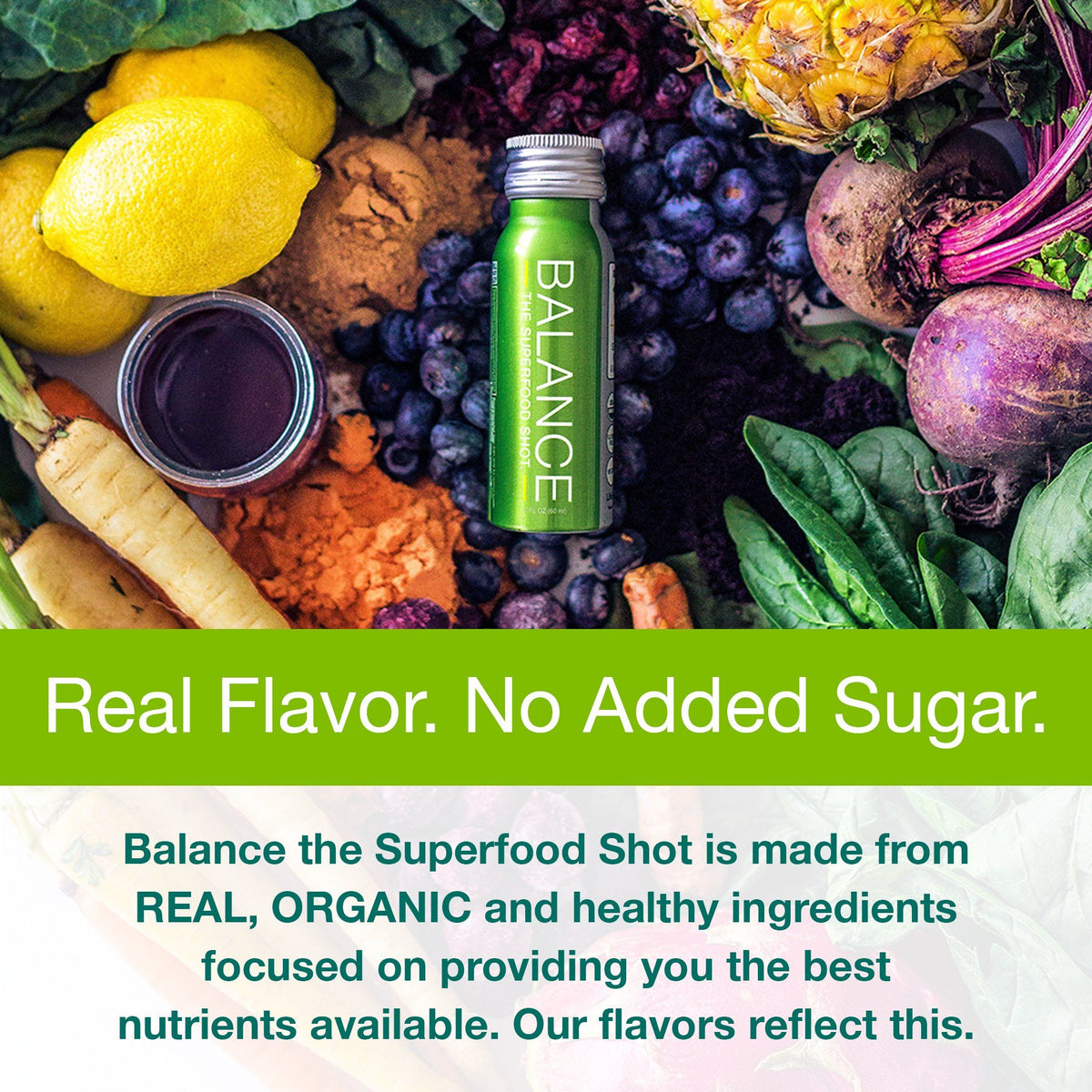 Balance The Superfood Shot® - Foundation Blend