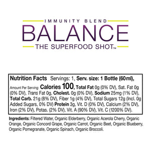 Balance The Superfood Shot® - Mixed Blends