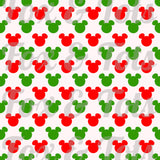 Red and Green Mickey Fabric