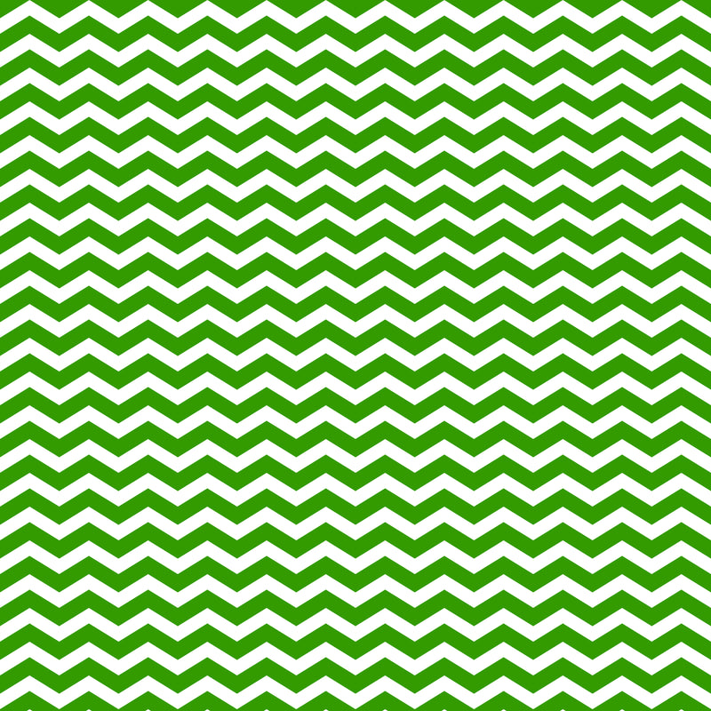 Green Chevron Fabric