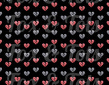 Broken Hearts Fabric