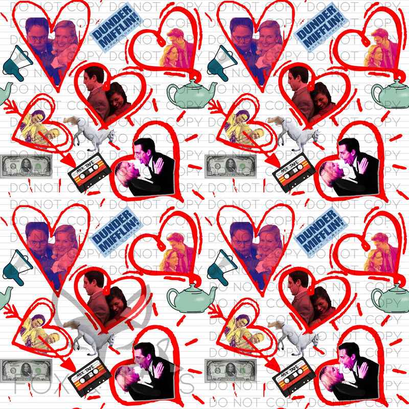 OFFICE ROMANCE Fabric