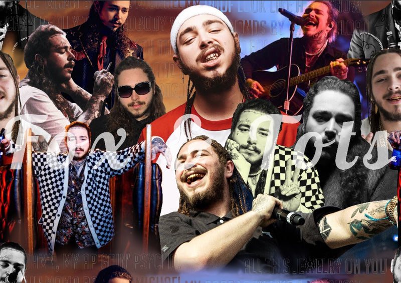 Post Malone Fabric