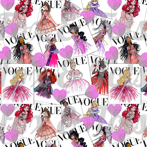Vogue Vday Fabric
