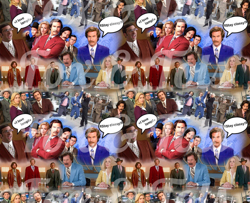 Anchorman Fabric