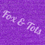 Purple Glitter Fabric