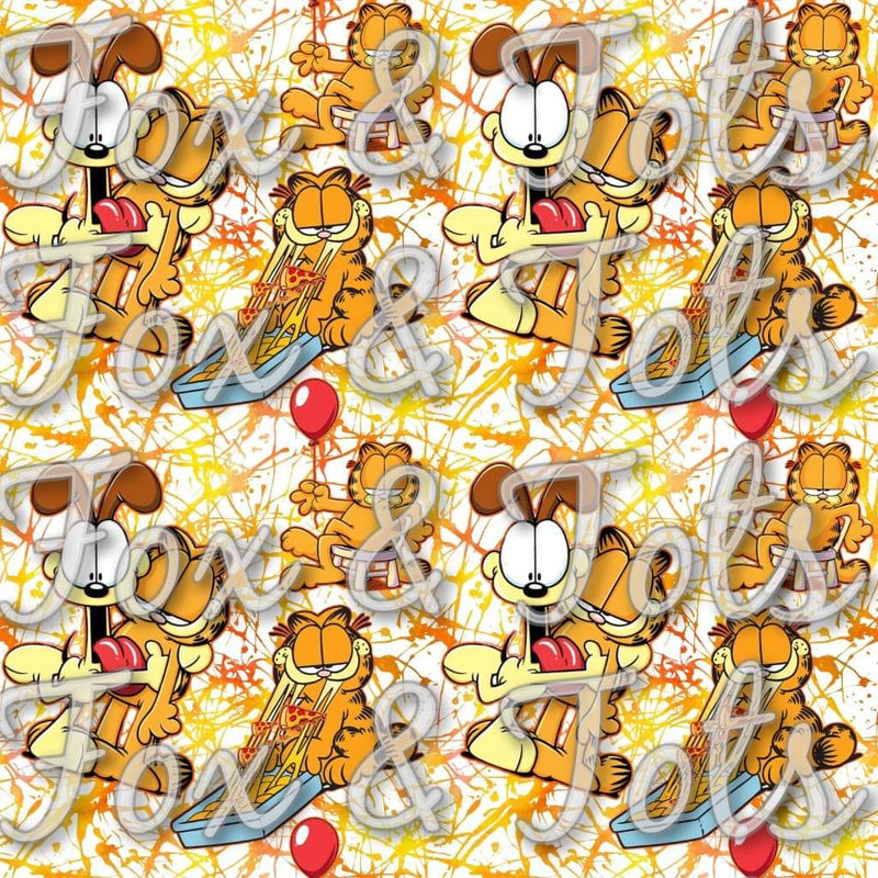 GARFIELD Fabric