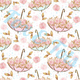 Umbrella Flowers Fabric