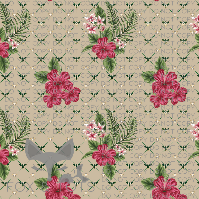 Inspired Floral Fabric