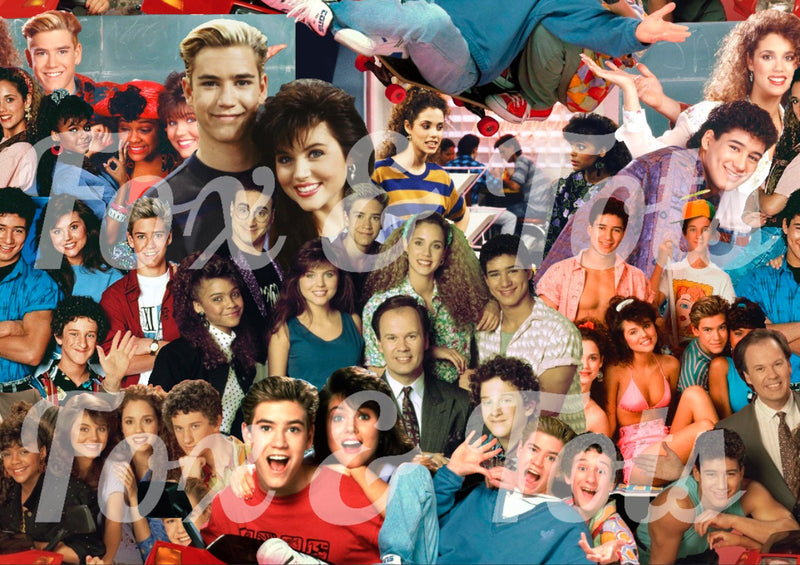 Saved By the Bell Fabric