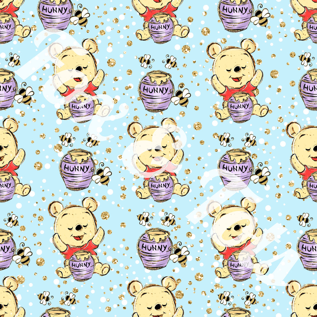 Honey Bear  Fabric