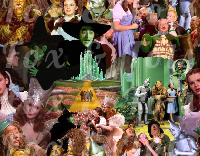 Wizard of Oz Fabric