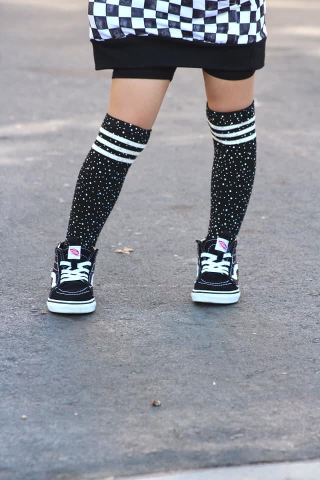 Bling Knee High Socks RTS