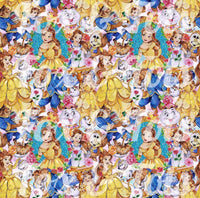 Beauty and the Beast Fabric