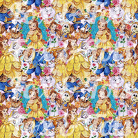 Beauty and the Beast SMALL SCALE Fabric