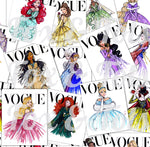 Vogue Princesses Fabric