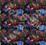 Mars Attacks  Movie Scene Fabric