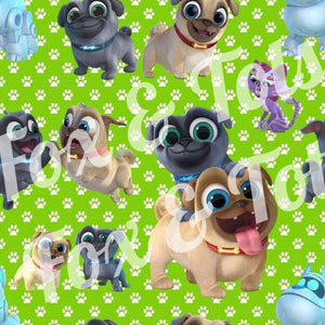 Puppy Dog Pals Fabric