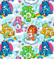 Care Bears SMALL SCALE Fabric