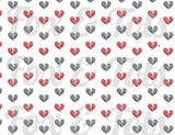 Broken Hearts Light Fabric