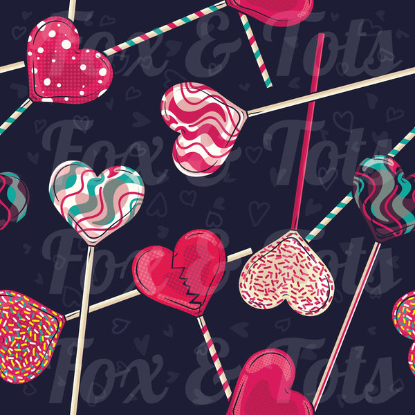 Broken Lollipops Fabric