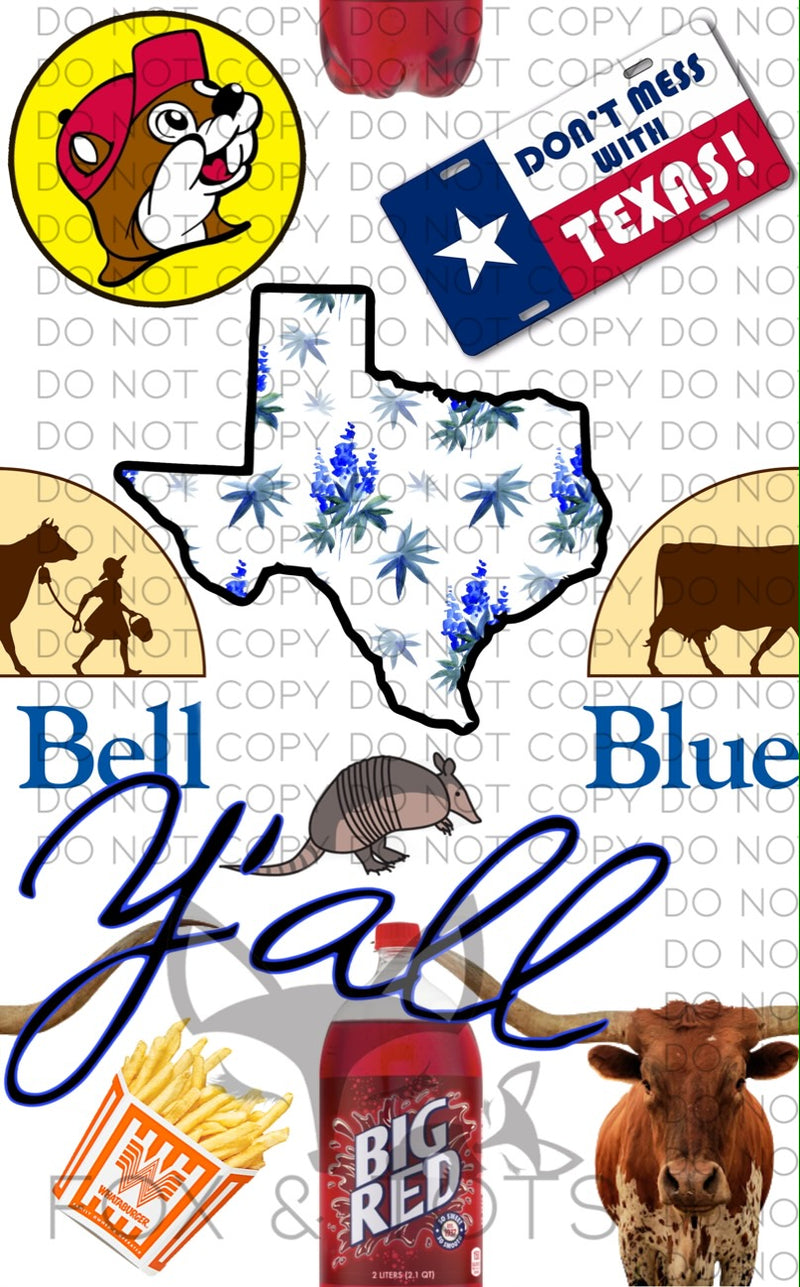 Dont mess with Texas Fabric-