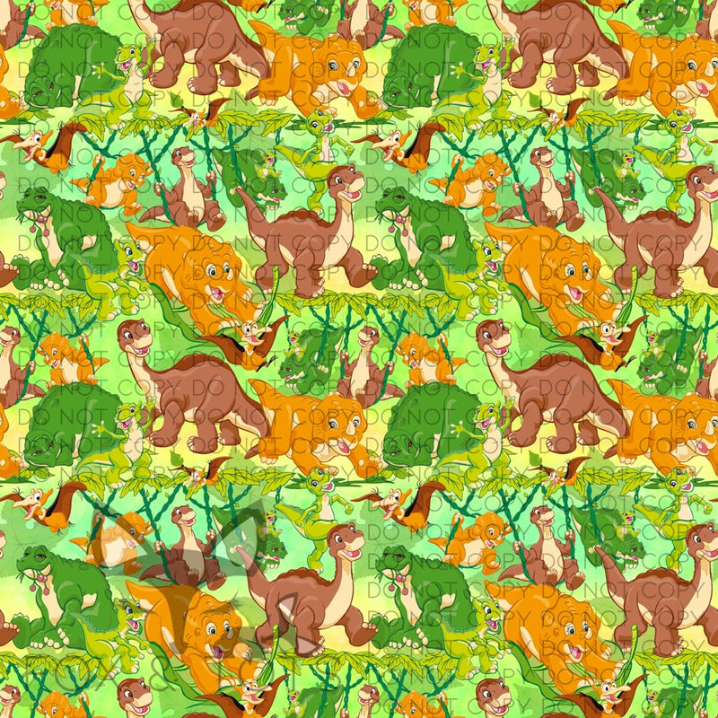 Land Before Time Fabric