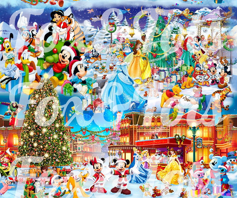 Magical Christmas Fabric