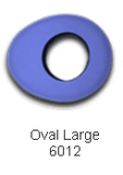 Eye Cover - Extra Large Oval Eyecushions