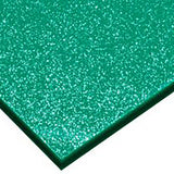 5MM ACRYLIC SPARKLE - GREEN 6SPO